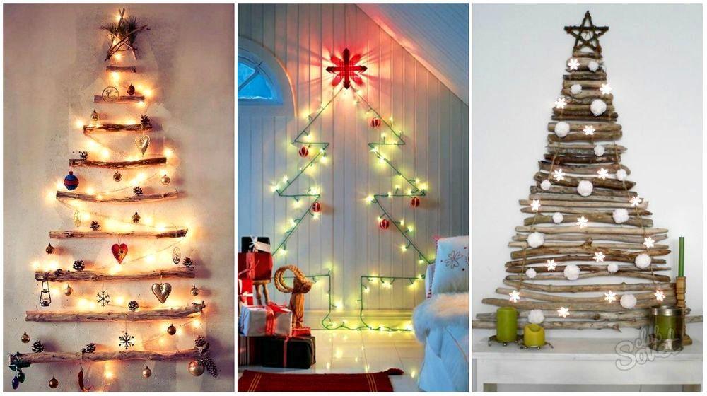 Новый год 2015 украшения для комнаты своими