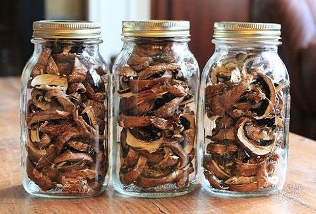Сколько хранить сушеные грибы в домашних условиях 174