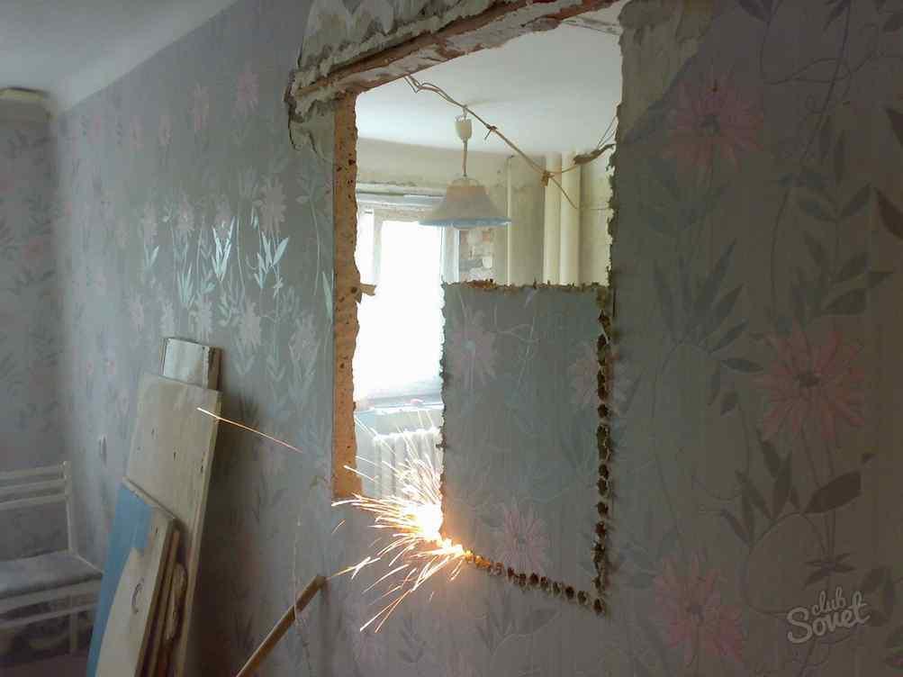 Перенос стен в ванной