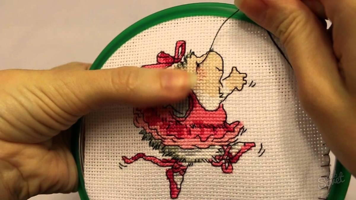 Как сделать ручную вышивку