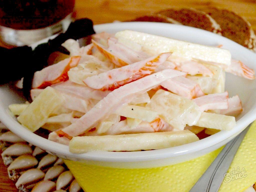 рецепты салатов с кукурузой без мяса