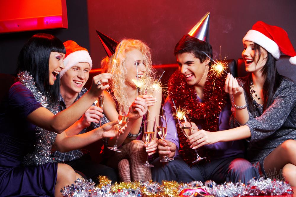 Корпоратив на новый год с лотереей