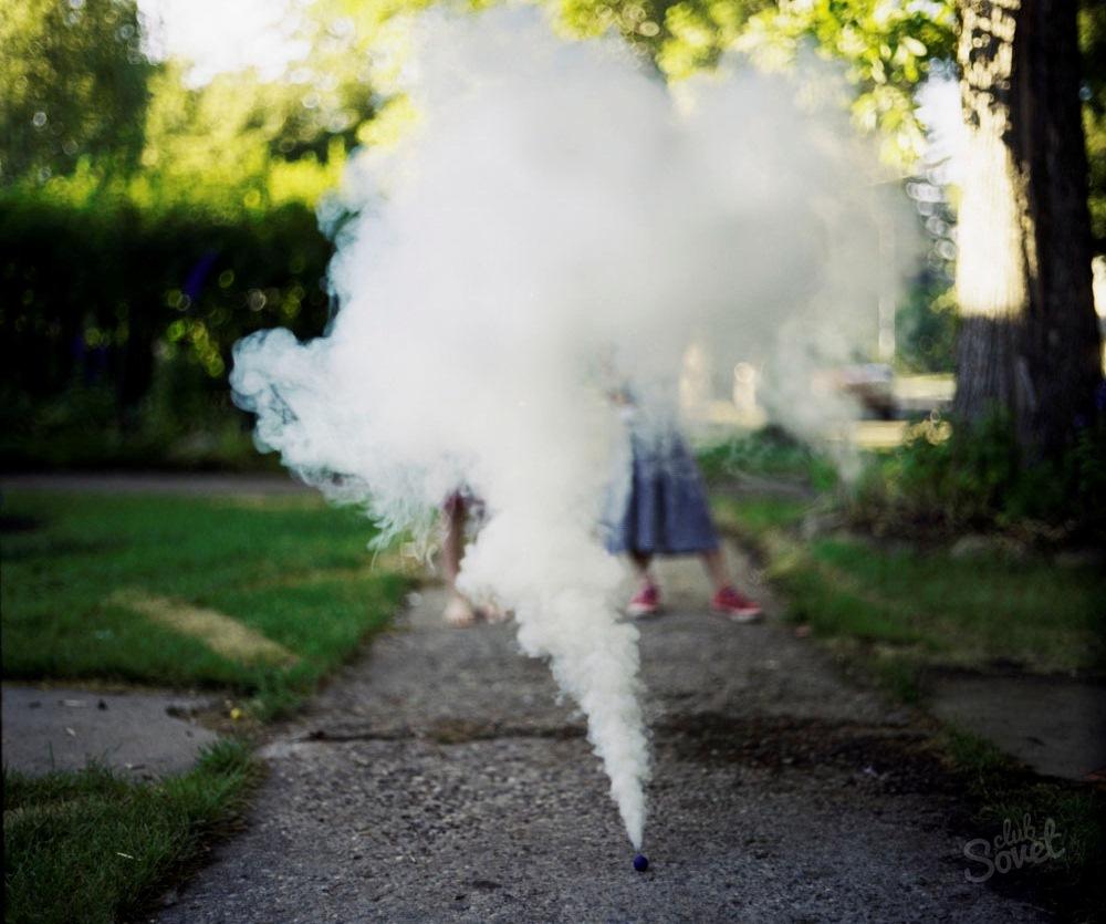 Воняет ли дымовая шашка из анальгина
