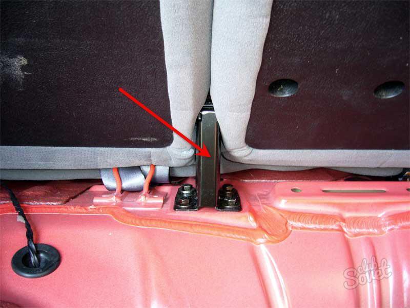 Как снять задние сиденья в шевроле круз