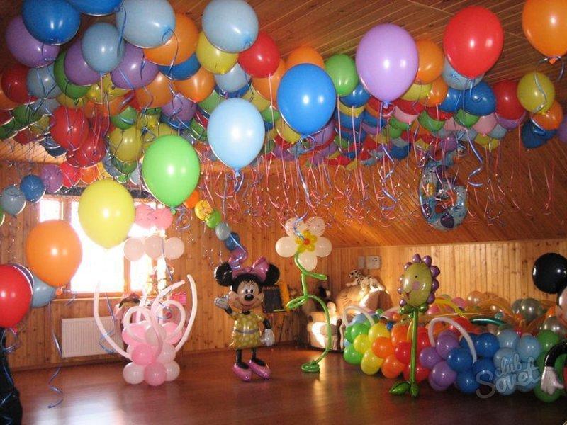 Оформить день рождения ребенка фото