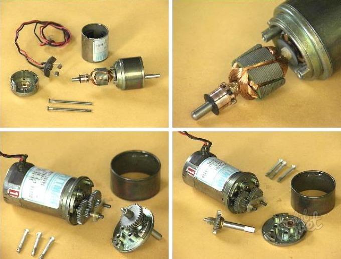 Самодельный электродвигатель для машинки