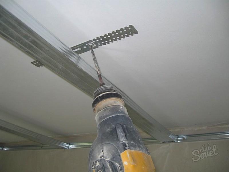 подвес потолочный для гипсокартона интенсивных физических