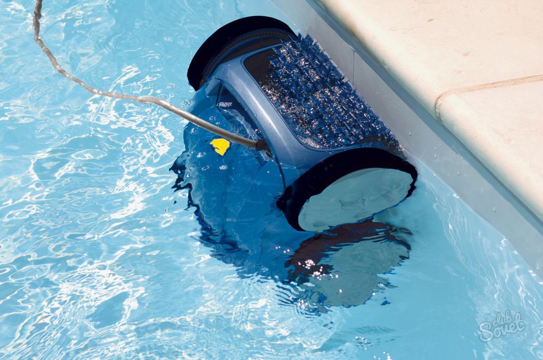 Как почистить воду в бассейне своими руками