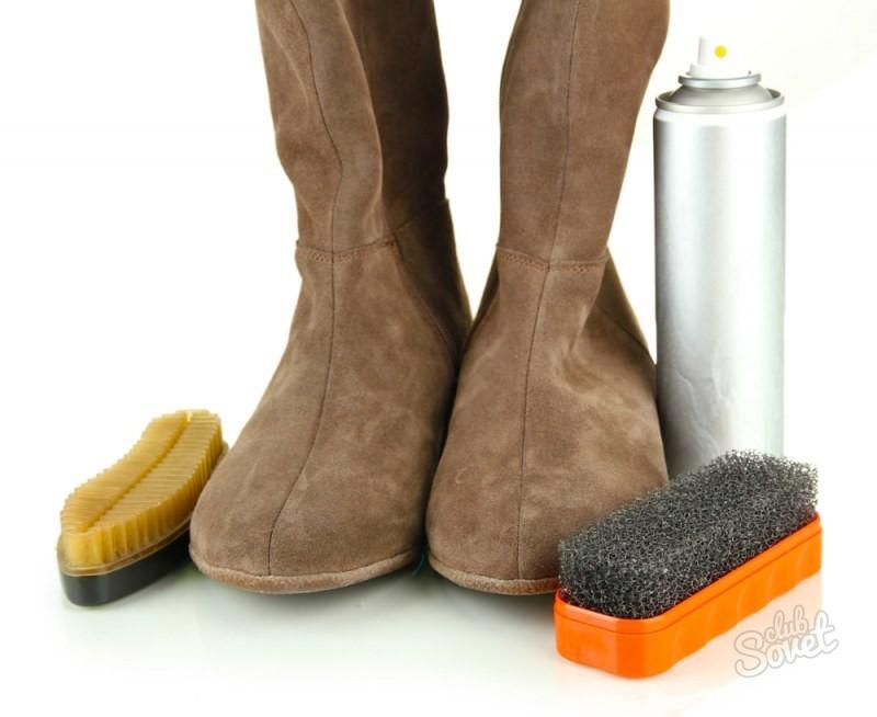Чем почистить обувь из замши в домашних