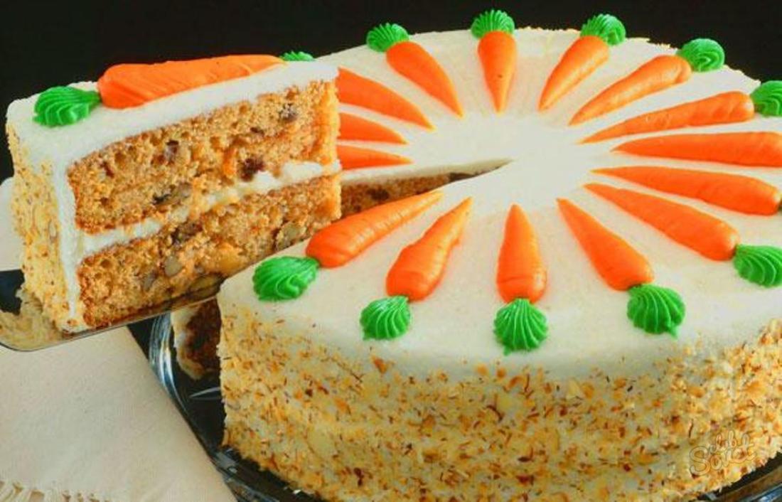 Вкусный рецепт морковного торта с фото