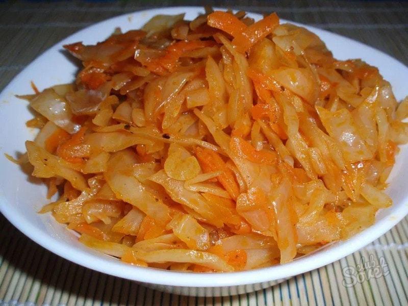 Как потушить капусту с мясом в кастрюле пошаговый рецепт