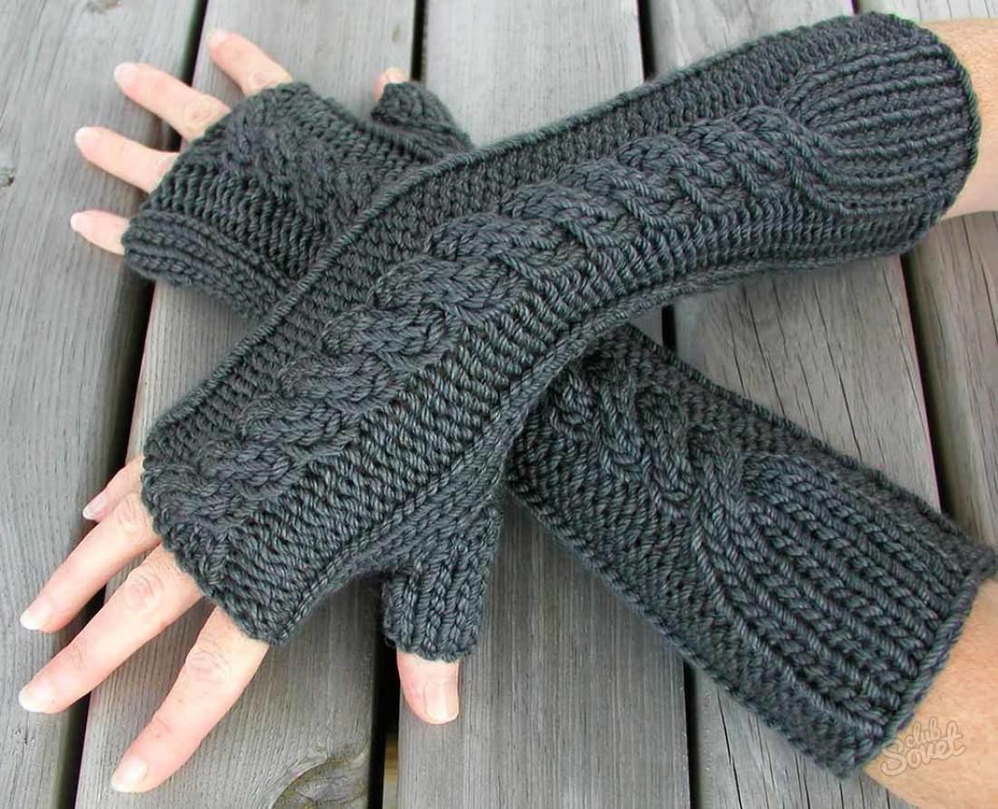 Варежки красивые своими руками