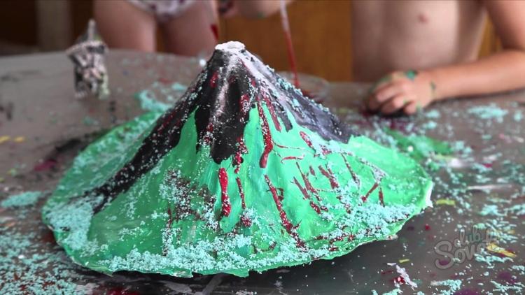 Как сделать свой вулкан 367