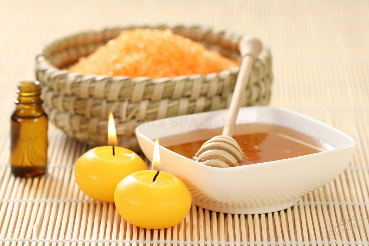 Скрабы от целлюлита в домашних условиях с медом