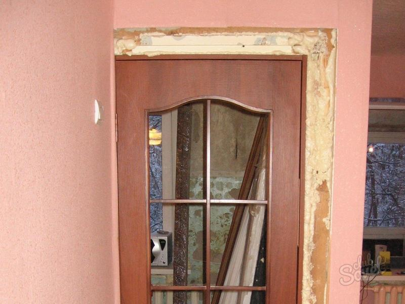 Как устанавливать межкомнатные двери своими руками фото