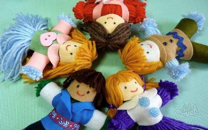 Куклы своими руками какие бывают