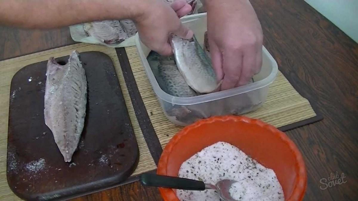 Как вкусно посолить селедку в домашних условиях пошагово