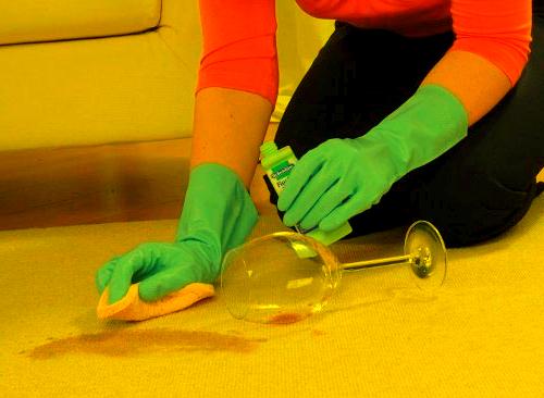 Чем отмыть фломастеры с ковра
