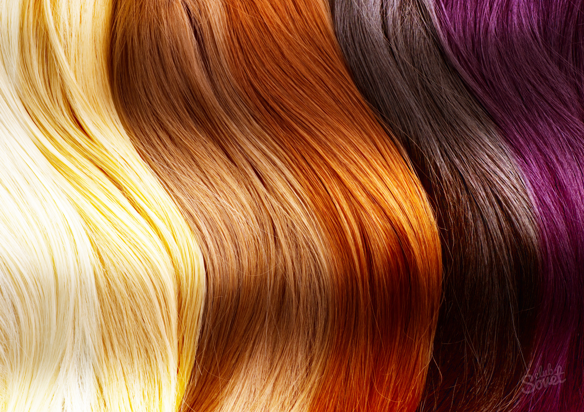 Цвет волос окрашивание