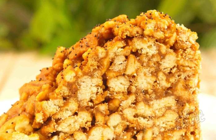 как сделать торт муравейник в домашних условиях из печенья