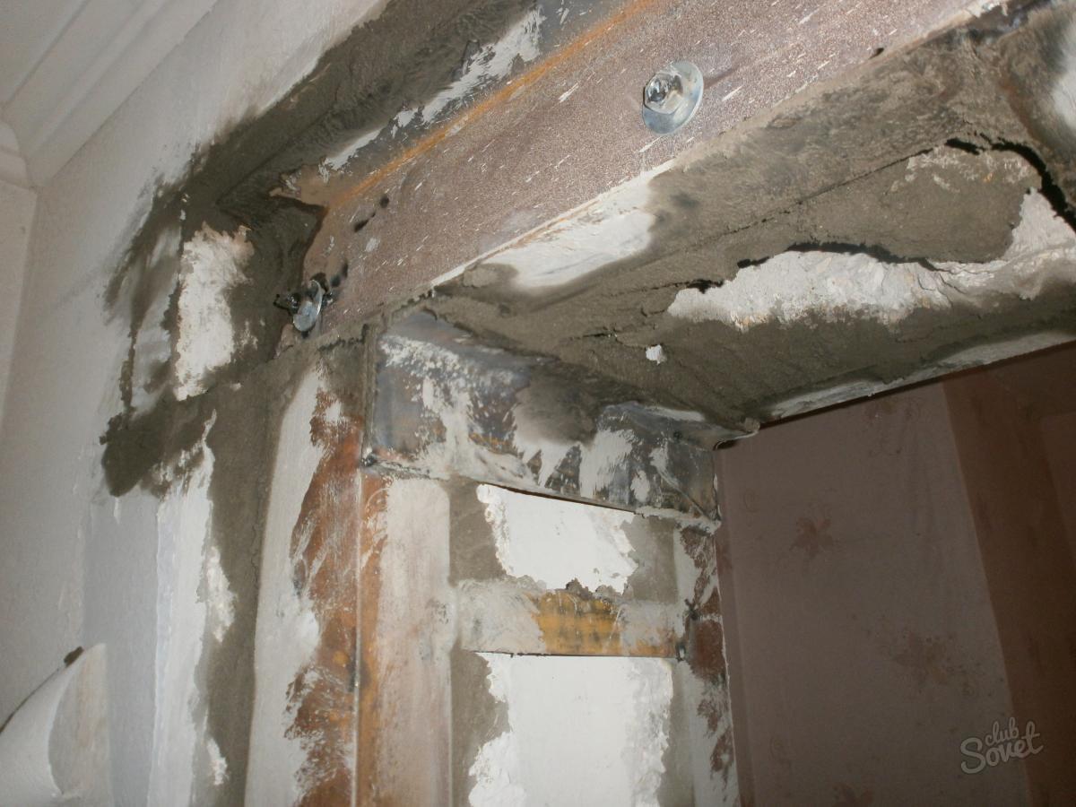 Как сделать проем в несущей стене кирпичного дома
