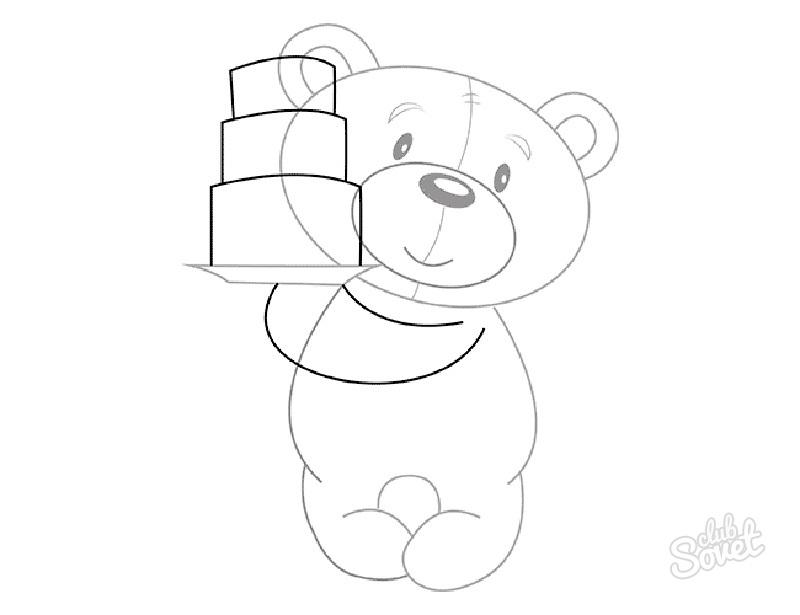 Рисунок на день рождения поэтапно карандашом
