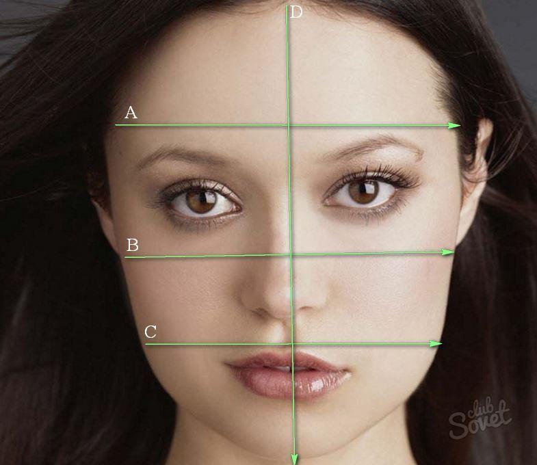 так создаются по фотографии определить форму лица рецепт