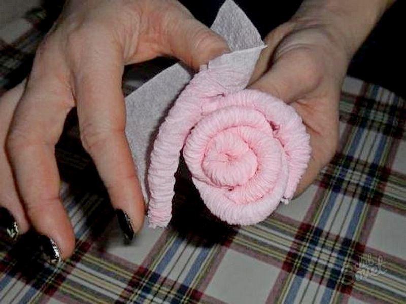 цветы розы из салфеток пошагово с фото таким болезням относится
