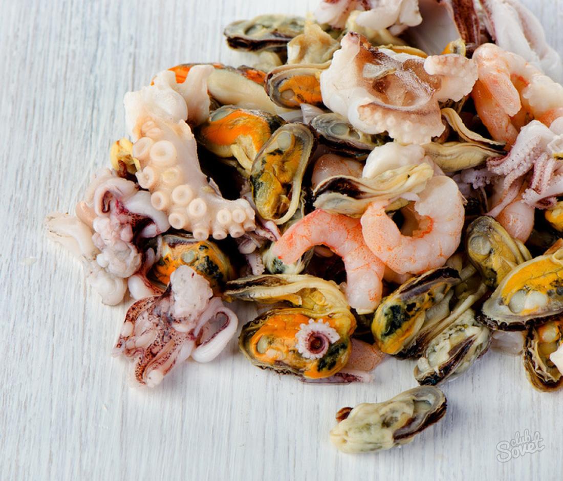 Морской коктейль замороженный — как приготовить: лучшие рецепты блюд. Как вкусно приготовить морской коктейль замороженный в сливочном соусе, с рисом, спагетти, овощами, пожарить на сковороде, суп, пасту, салат, плов, пиццу, ризотто из морского коктейля: рецепт
