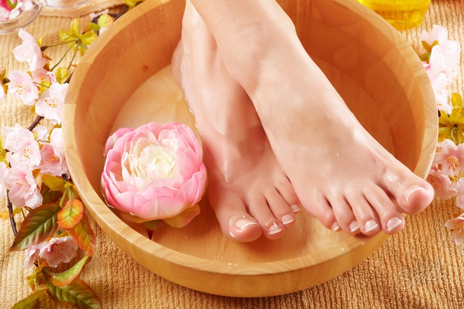 Ноги-в-ванночке