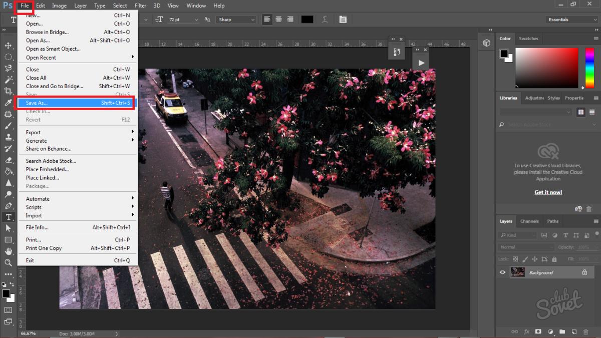 проставить размеры на фотографии редактор