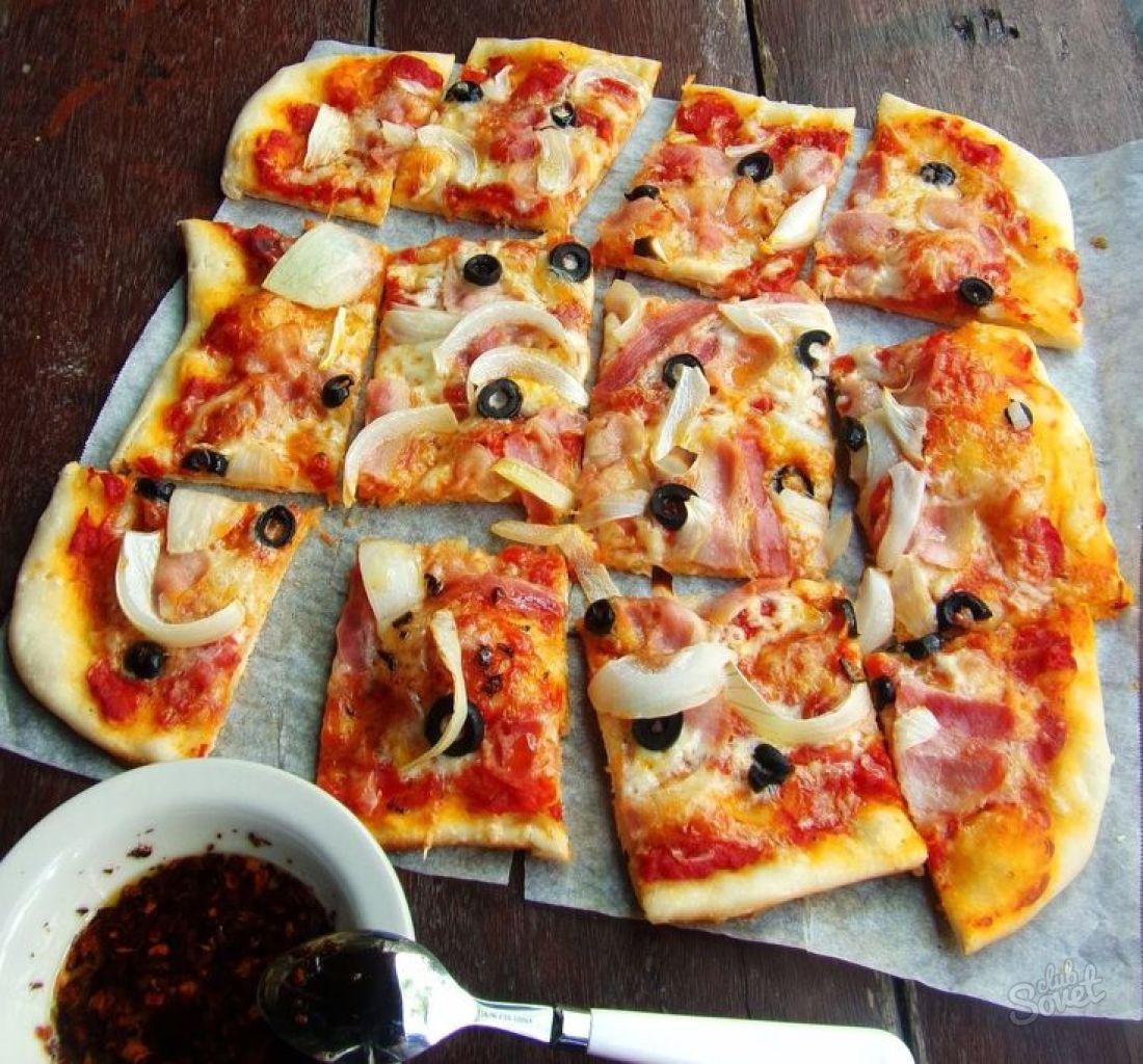Приготовление пиццы картинки