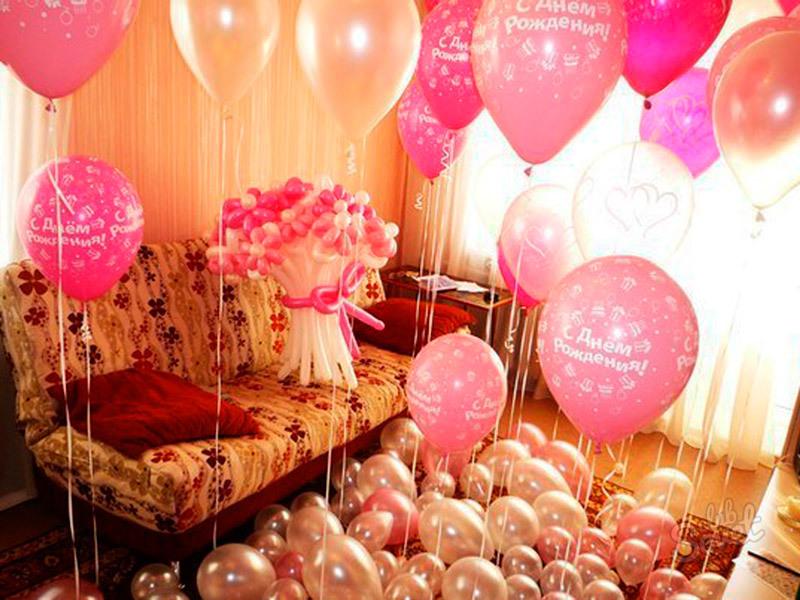 оригинальные поздравления с шарами на день рождения нашем