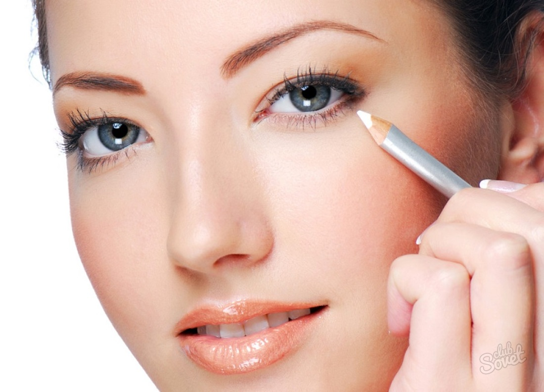 правила макияжа для глаз картинки садиться