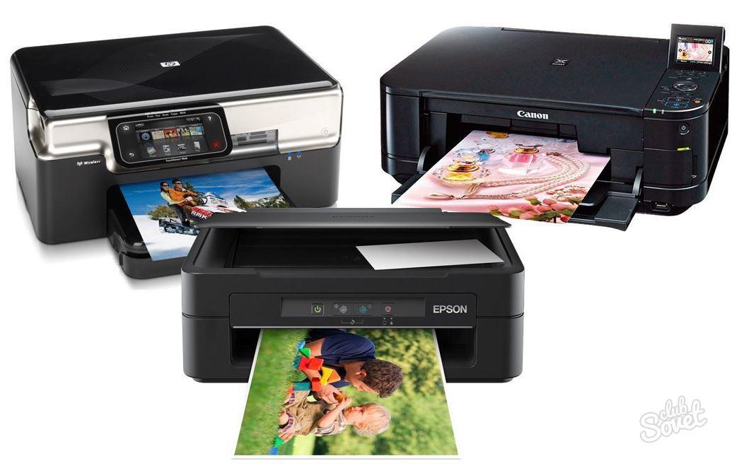передать фото на принтер и распечатать