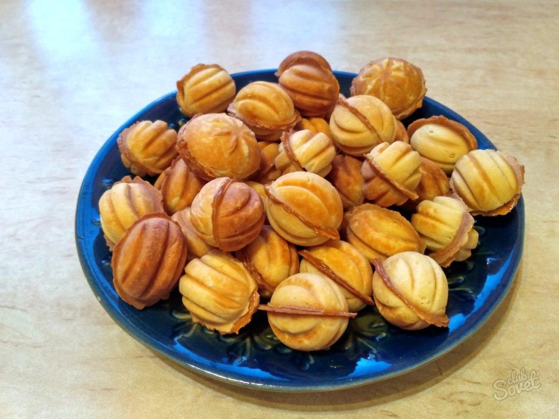 Орешки со сгущенкой - классический рецепт изоражения