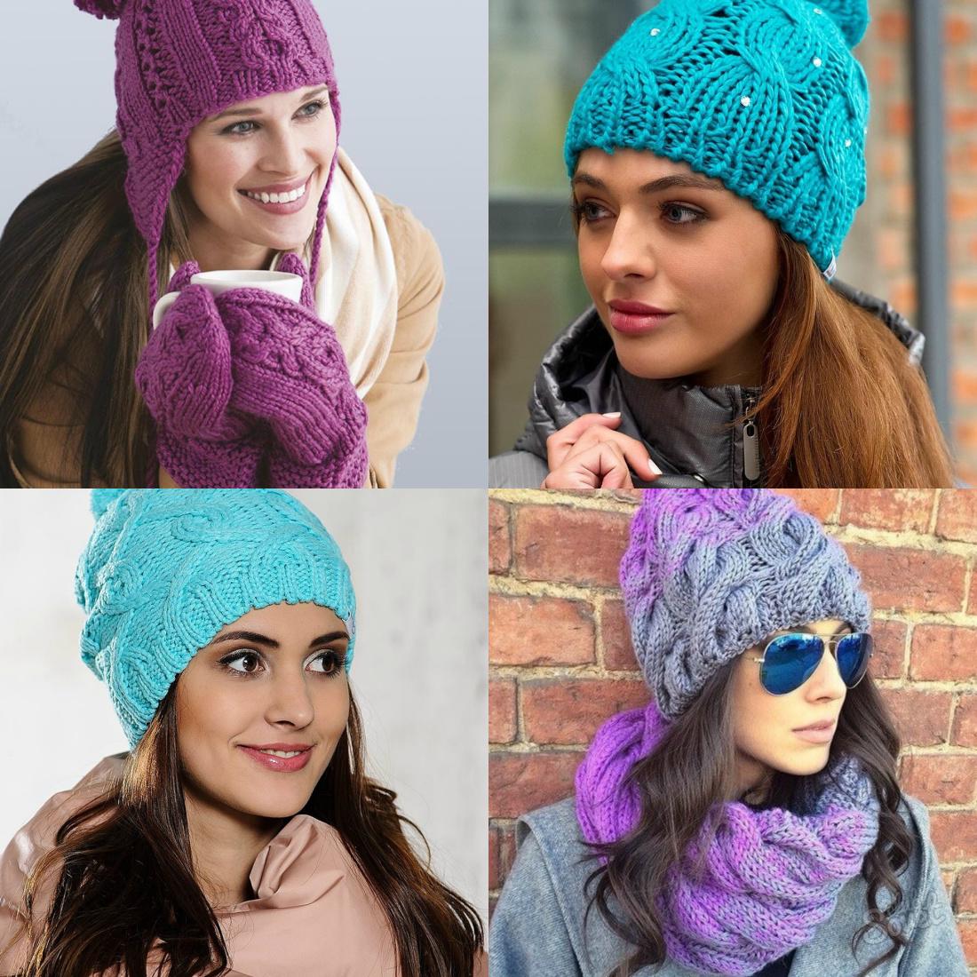 узоры для шапок спицами схемы и описание узоры для вязания шапок