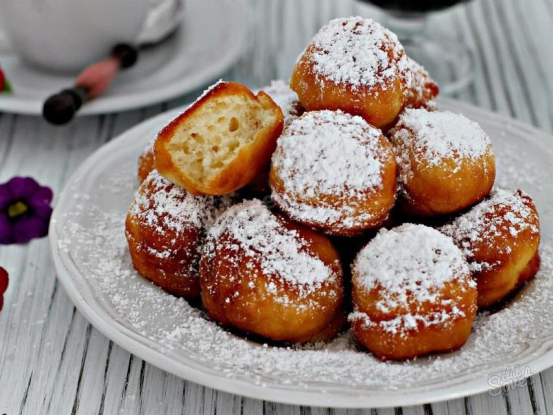 круглые пончики рецепт с фото получили