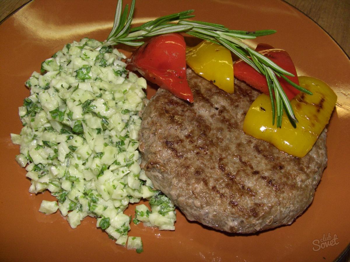 бифштекс рубленный из говядины рецепт с фото чтобы