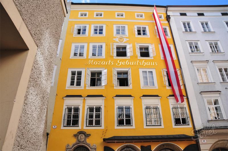 Музей моцарта в вене картинка