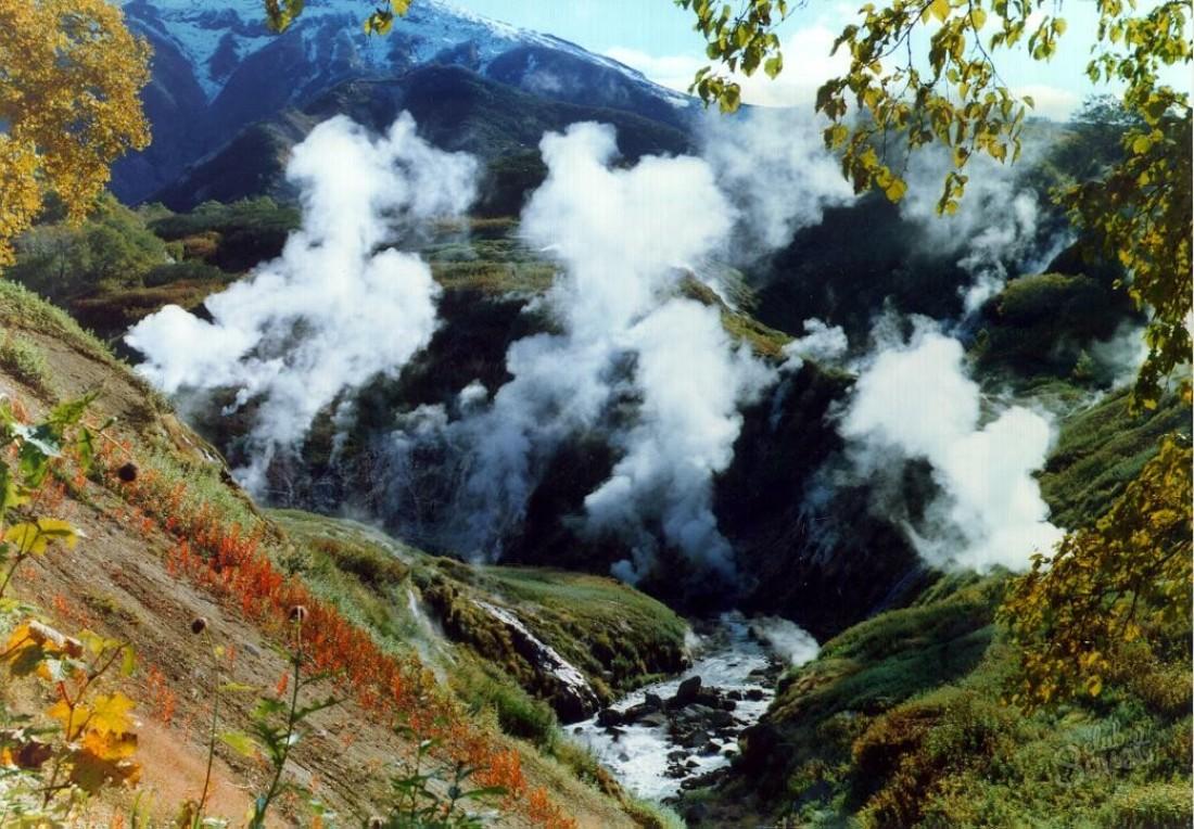 Картинка долина гейзеров на камчатке